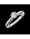Bague SIX DE TOI or gris, diamant 0,30ct serti 6 griffes